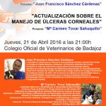 Conferencias sobre manejo de heridas en animales de compañía